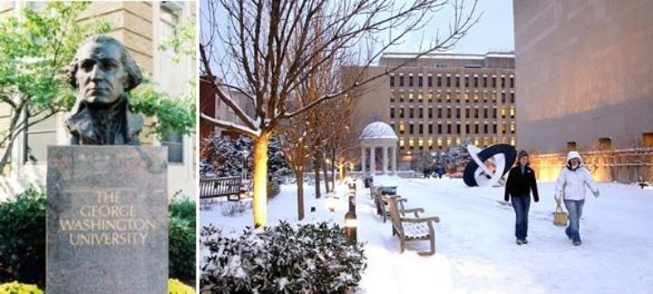 Winter at the George Washington University (c)